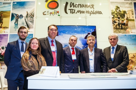 Costa Del Sol Delegation at Intromarket 2016 Moscow Travel Fair, March 2016
