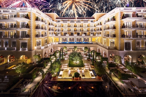 New Year celebration at Regent Porto Montenegro hotel